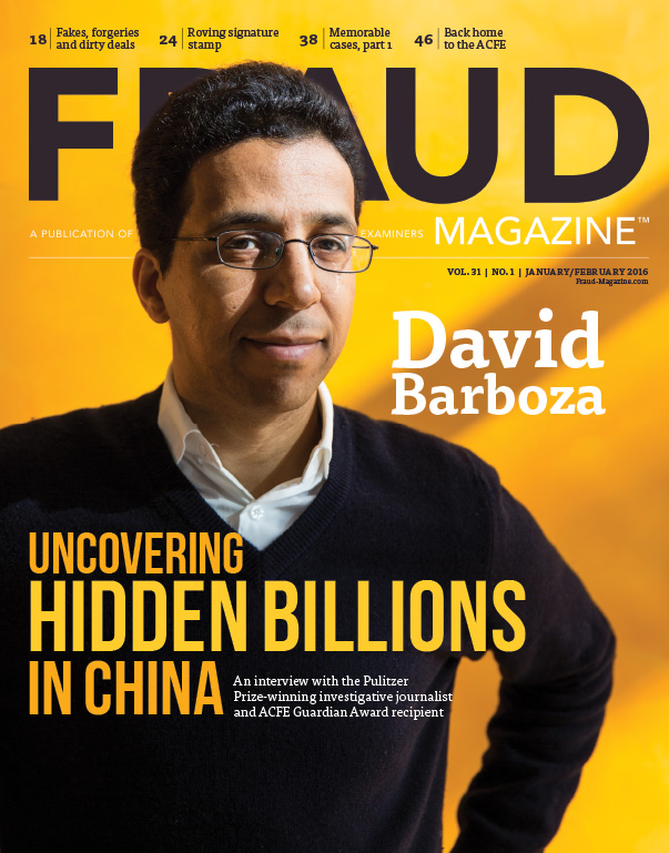 Fraud Magazine January February 2016